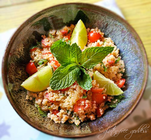 Quinoa Mint Salad